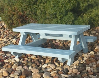 picnic table for american girl or any 18 inch doll