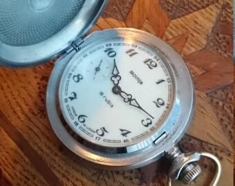 Pocket watch Molnija from Russia Soviet Union
