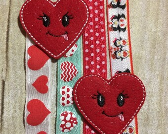 Valentine Planner Band - Silly Heart on your Choice of Band