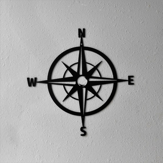 Compass Rose, Nautical Chart, Windrose, Rose of the Winds, Directional art, Design #3