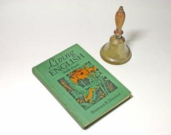 Vintage Living English Sixth Grade Book - circa 1935