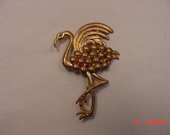 Vintage Ostrich Brooch   16 - 770