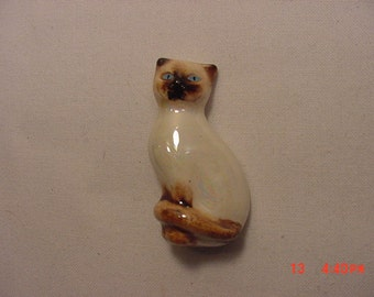 Vintage Avon Siamese Cat Or Kitten Brooch  17 - 144