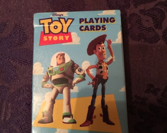 Toy Story Vintage 1995 SEALED Playing Cards, Mint, Disney Pixar CAT NOT included