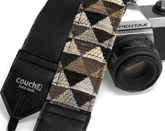 Black Triangle Pyramid Camera Strap