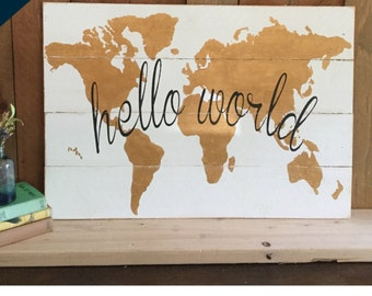 Wooden World Map Wall Art wall world map wooden large travel map of the world rustic