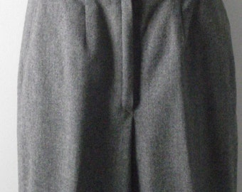 Vintage Pendleton Slacks Pants Slate Gray Virgin Wool Fully Lined Side Front Pockets Professional Office Woodland Cottage Chic Casual 30x31