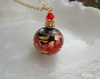 Fiorato Murano Glass Necklace