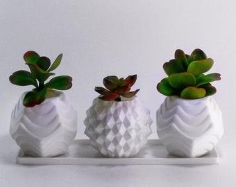 Modern House Window Planters Gardening Pot Decorative Flower Pots
