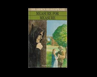 1980 Paperback. The Arden Shakespeare. Measure for Measure. University Paperback. Literature Student.