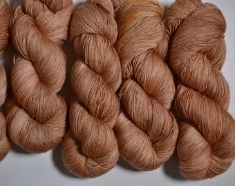 Giant Peach - merino lace