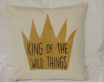 King of the Wild Things Pillow Cover