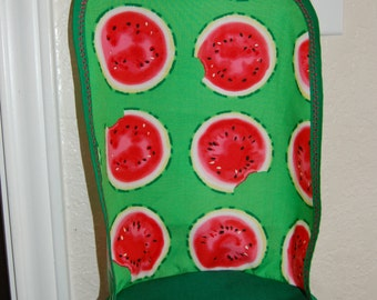 Green Watermelon Doll Stroller Replacement Seat