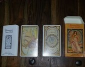 1987 Renaissance Tarot Deck Cards with Booklet Made in Switzerland