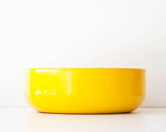 Vintage Modern Finel Kaj Franck Arabia of Finland Bowl - Bright Yellow