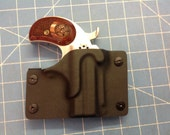 Custom order for GreerUSA  retention holster for a Bond Arms Cowboy Defender Derringer