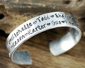 Personalized Family Bracelet, Grandmother Bracelet, Custom Bracelet, All Because Two people Fell In Love, Anniversary Gift, Mothers Day Gift