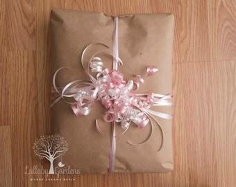 Gift Wrap Service for Lullaby Gardens Custom Minky Blankets