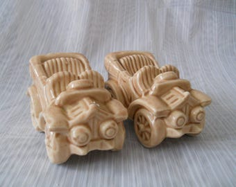 Vintage Cars - vintage, collectible, Victoria Ceramics, automobiles, car