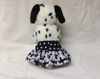 Female Dog Diaper Britches Pet  Panties Wrap Pants Skirt Size XSmall To XLarge Sheep Fabric