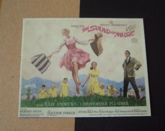 Magnet The Sound of Music movie poster Julie Andrews Christopher Plummer