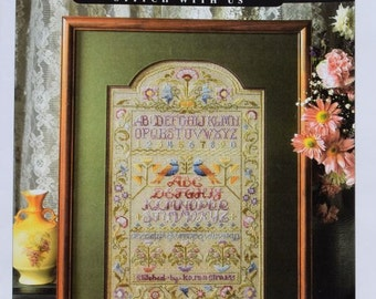 Variegated Floss Sampler – Designed by Nancy Rossi - Cross Stitch & Country Crafts – Book 55