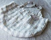 the signe washed linen bag  | tote bag | linen bag | beach bag | market bag | vintage inspired | french bag