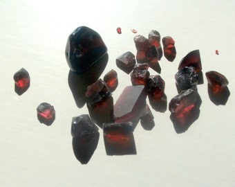 167.5ct Almandine Garnet - Hand Select Gem Rough for faceting or cabachon