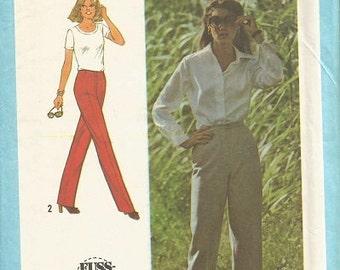 Simplicity 9040  Vintage Pants Pattern SZ 12