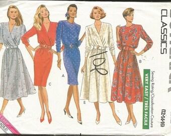Butterick 4217  Easy Dress Pattern SZ 12-16