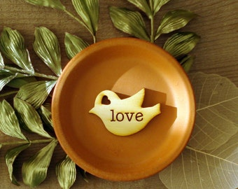 120 Wood Bird Wedding Favors Love Bird Favors Personalized