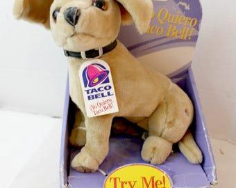 talking Taco Bell chihuahua singing stuffed toy plush