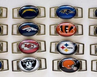 Paracord AFC Football Shoelace Charms AFC East Charms AFC West Charms AFc North Charms AFc South Charms Paracord Shoelace Charms Super Bowl