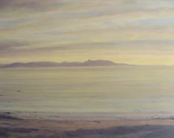 Isle of Arran Sunset....Scotland ... original oil painting