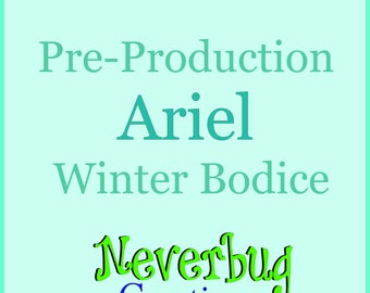 Ariel Little Mermaid Winter Bodice (Pre-Production)