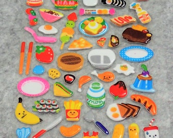 Mixed Cutie Food Desserts Stickers