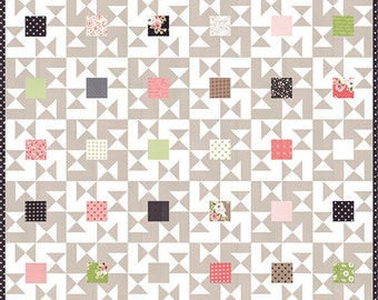 Olive's Flower Market - Candy Box Quilt Pattern by Lella Boutique