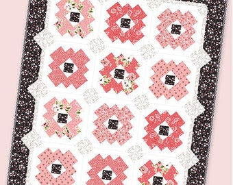 Olive's Flower Market - Daisy Patch Quilt Pattern by It's Sew Emma