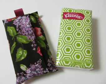 Tissue Case/Lilac And Rose