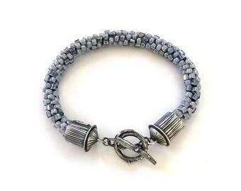 Kumihimo Bracelet | Kumihimo Jewelry | Beaded Bracelet