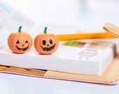Korean Cute Pumpkin Pen - Pumpkin Gel Ink Pen  - Kawaii Cat Pen