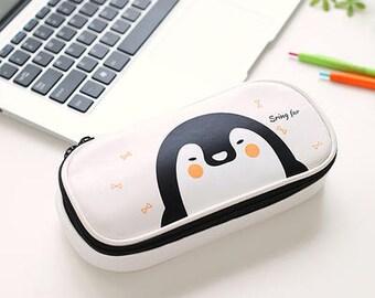 PU Animal Pen Pouch Case -Gel Ink Pen Pouch Receive Pouch Makeup Pouch