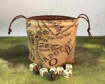 Middle Earth 5-pocket Dice Bag