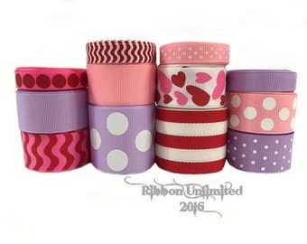 24 yds SWEEETHEART  collection WHOLESALE  grosgrain ribbon Low Shipping Cost