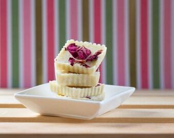 Romance Rose Petal Tub Truffles - Cocoa Butter Bath Melts