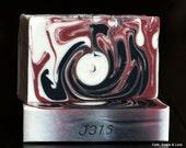 Whosoever - Black Raspberry Vanilla Scented Artisan Soap - Made in Minnesota - Christian Soap