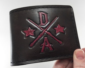 Dumbledore's Army - Hand Tooled Leather Wallet