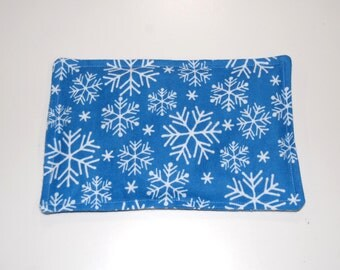SALE, Rice Heating Pad / Ice Pack, 5 X 8 Snowflake