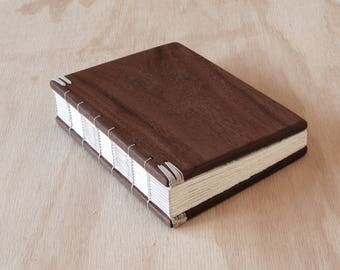 RESERVED for Shanon - Custom Walnut Guest Book