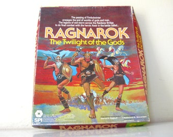 1981 Vintage Ragnarok The Twilight of the Gods Roleplaying Game // Dungeons & Dragons // RPG // Norse Mythology